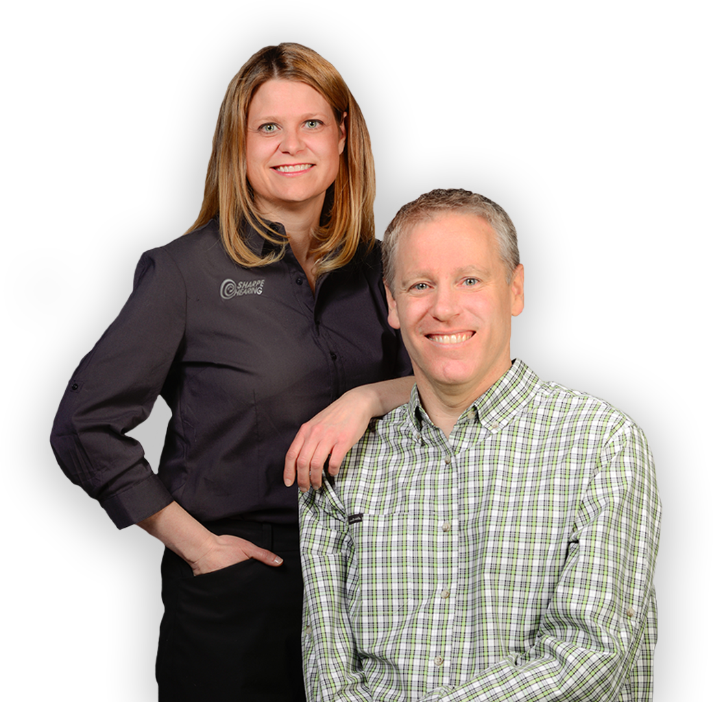 Tracey and Andrew Sharpe - Sharpe Hearing team